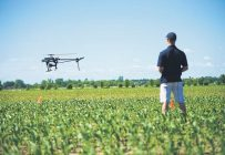 L'utilisation des drones est de plus en plus populaire dans plusieurs cultures. Crédit photo : Archives TCN