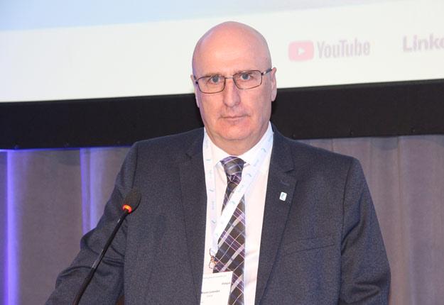 Le président des Producteurs de lait du Québec, Bruno Letendre. Crédit photo : Julie Mercier/TCN