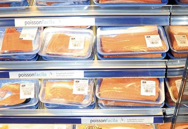 Environ 85% des poissons d'eau douce en vente au supermarché proviennent de l'extérieur du pays. Crédit photo : Archives TCN