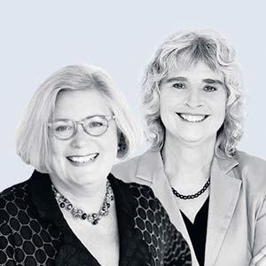 Margaret Bywater-Ekegärd et Ananda Lynn Fitzsimmons.