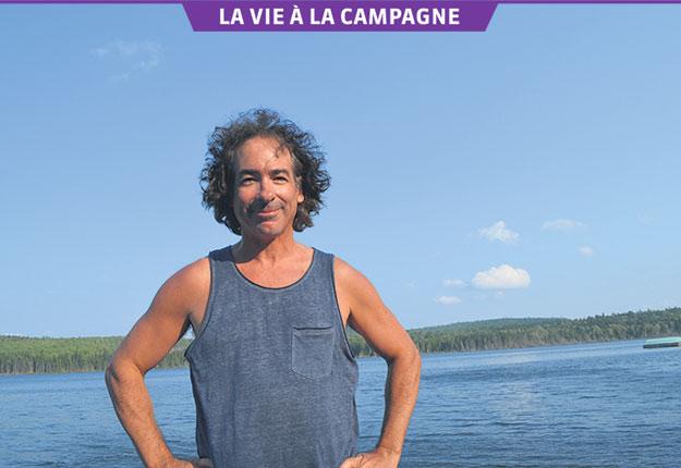 Jacques Diamant se rend encore durant l'été au chalet du lac Chaudière, près de Saint-Pacôme, et chez son père, à Kamouraska. Crédit photo : Gracieuseté de Jacques Diamant