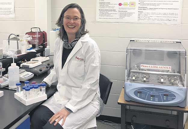 Valérie Orsat est professeure titulaire au Département de génie des bioressources de l'Université McGill. Photos : Marie-Josée Dumont