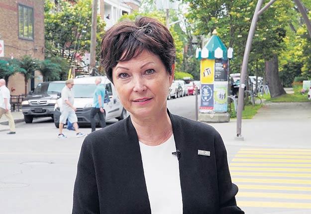 La Protectrice du citoyen, Marie Rinfret.