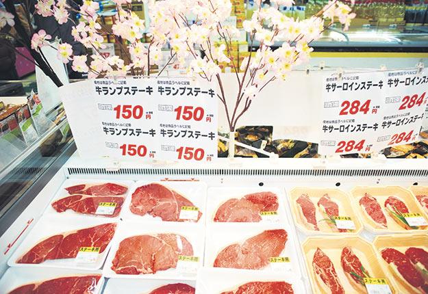 Le Japon accepte de nouveau la viande de bovins canadiens et américains âgés de plus de 30mois. Photo : Martin Ménard/Archives TCN