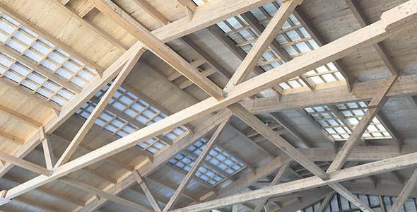 Le projet primé de la Ferme Zwygart, à Fortierville, au Centre-du-Québec. Photo :  Ambiance bois