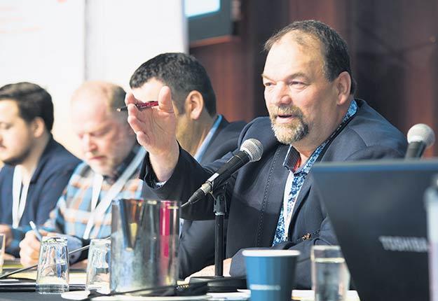 Le président des Producteurs et productrices acéricoles du Québec, Serge Beaulieu, sait que la réforme du système des contingents ne se fera pas sans heurts. Photo : Martin Ménard/TCN