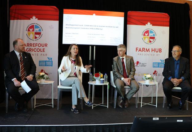 Photo : Gracieuseté des Producteurs laitiers du Canada
