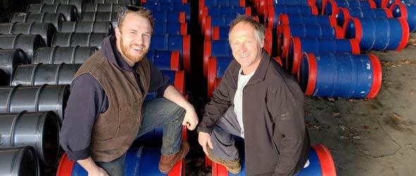 La production de sirop d'érable 2019 pour l'ensemble du Québec est à l'image de celle des Cormier : un record. Ces producteurs de Dunham, en Montérégie, ont obtenu un rendement de 6,2 lb par entaille, bien au-delà de leurs attentes. Photo : Gracieuseté