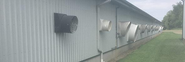 Système de ventilation transversale. Photo : Gracieuseté d'Ed Benjamins