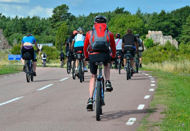 Le comportement des cyclistes en milieu rural a soulevé l'ire de certains intervenants sur les médias sociaux au cours des dernières semaines.