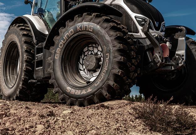Le Nokian Ground King, un pneu hybride « conçu pour tous les jours de l'année et toutes les conditions », assure le constructeur. Photo : Gracieuseté