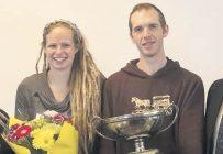 Le 12 mars, Cammy et James Lockwood ont été nommés Jeunes agriculteurs d'élite de la Colombie-Britannique et du Yukon. Photo : Gracieuseté des fermes Lockwood