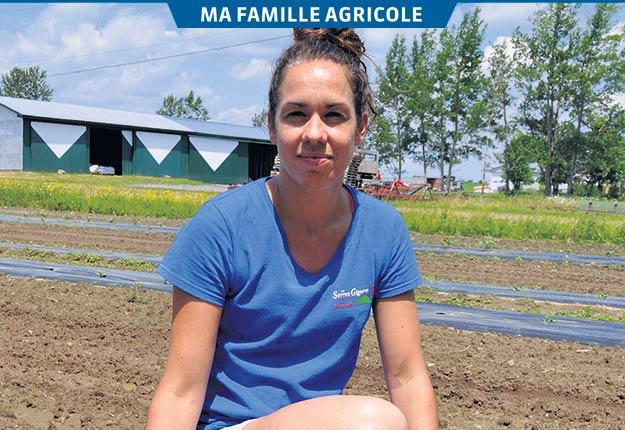 Marie-Millie Fiset est une femme active qui voit grand pour l'entreprise familiale. Photos: Johanne Martin