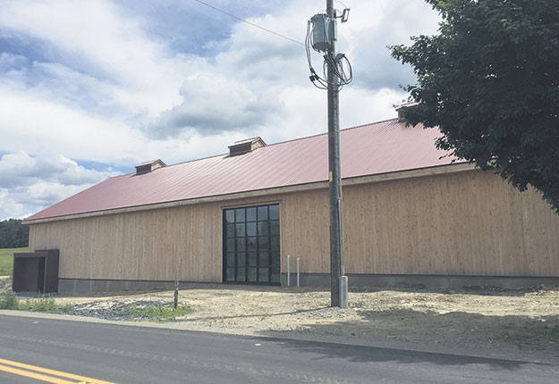 Le bâtiment destiné à la maturation des fromages de La Station a désormais une capacité de 30000 meules. Photos : Myriam Laplante El Haili/TCN