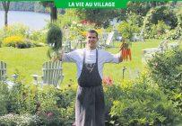 Le nouveau chef du Manoir Hovey de North Hatley, Alexandre Vachon, provient du village agricole de Saint-Albert dans l'Est ontarien. Photo : Myriam Laplante El Haïli/TCN