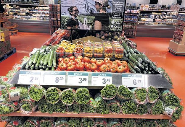 La ferme maraîchère l'Éden Rouge réalise environ 25 % de son chiffre d'affaires uniquement en vendant au Provigo de Ville-Marie, en Abitibi-Témiscamingue. Photo : Gracieuseté de Denis Nolet