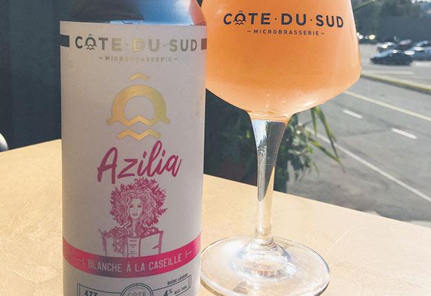 En manque de caseilles, une microbrasserie de Montmagny pourrait devoir renoncer à produire sa bière Azilia qui connaît du succès. Photo : Gracieuseté de Maxime Laplante
