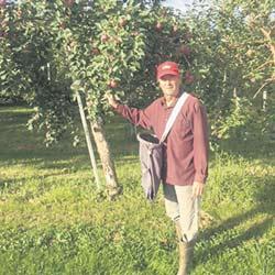 Le président de l'UPA de L'Île-d'Orléans, François Blouin, souhaite ni plus ni moins «sortir les activités agricoles du Plan de conservation». Photo : Gracieuseté de François Blouin