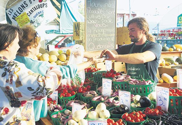 En avril, l'AQDFL s'est vu octroyer une enveloppe de 400000$ de la part du gouvernement québécois pour accroître la consommation de fruits et de légumes chez les populations vulnérables du Québec. Photo : Martin Ménard/TCN