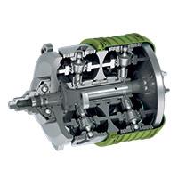 Le système mécatronique de CVTCorp permet de transmettre plus de puissance aux roues et offre l'occasion d'opérer la machinerie agricole avec un plus petit moteur tout en améliorant les  performances générales d'environ 20 à 30%.