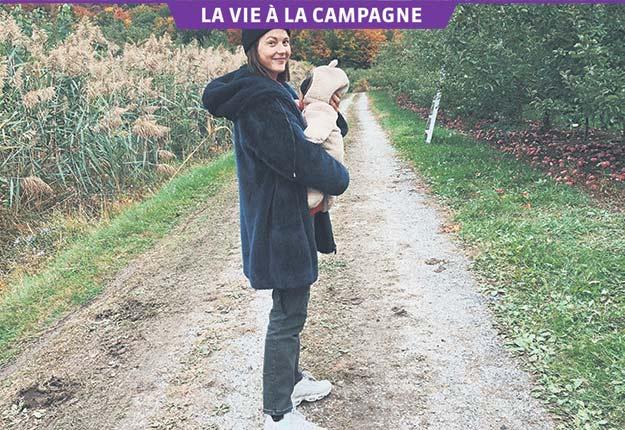 Depuis avril 2018, Vanessa Pilon s'enracine dans son verger à Rougemont. Photos: Gracieuseté de Vanessa Pilon