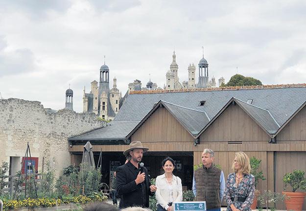 Pour ses 500ans, le château de Chambord inaugure des potagers parrainés par l'agriculteur québécois Jean-Martin Fortier. Photos : l'équipe du Château de Chambord.