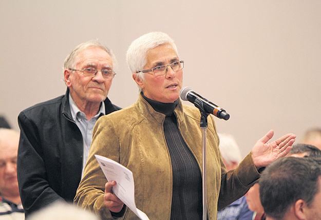 Barbara Bourque (sur la photo), dont la mère, Jeanine Bourque, a été la première femme à siéger au conseil général de l'UPA dans les années 60. Photos: Myriam Laplante El Haïli/TCN