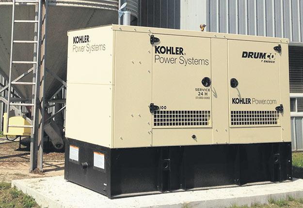 Drumco est l'unique distributeur des génératrices Kohler au Québec.