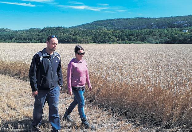 Simon Michaud et Mylène Bourque sont issus de la cinquième génération à la Ferme Régika.
