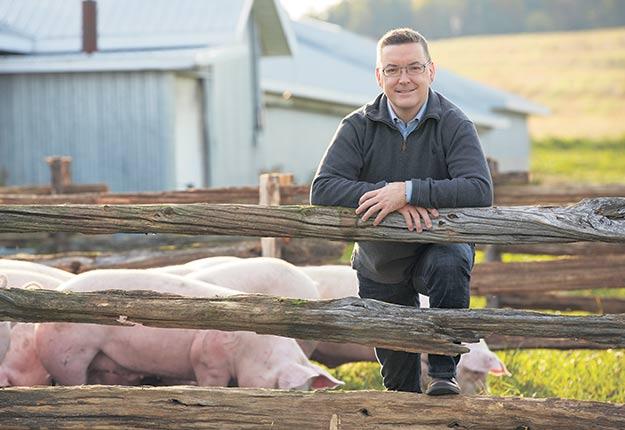 DuBreton a soutenu la transition de 90bâtiments de ferme sous régie biologique et accrédités Certified Humane depuis les trois dernières années, ce qui représente 340000porcs. Photo : gracieuseté de DuBreton