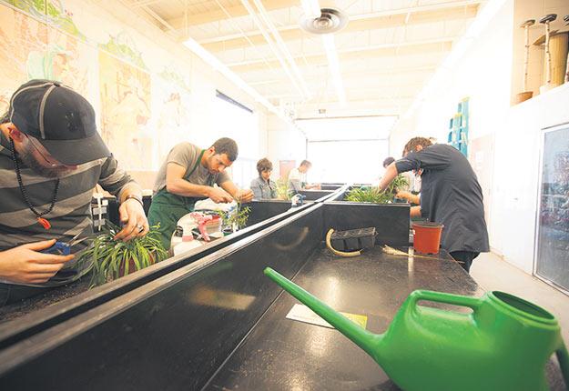 L'École d'agriculture de Nicolet accueille plus de 100étudiants par année. Photos : gracieuseté du Centre de formation professionnelle de la Riveraine