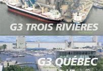 G3 Canada Limited possède deux terminaux dans la province, un au port de Québec et l'autre à celui de Trois-Rivières.