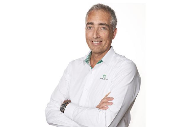 Jean-François Baril, vice-président des ventes chez Soleno