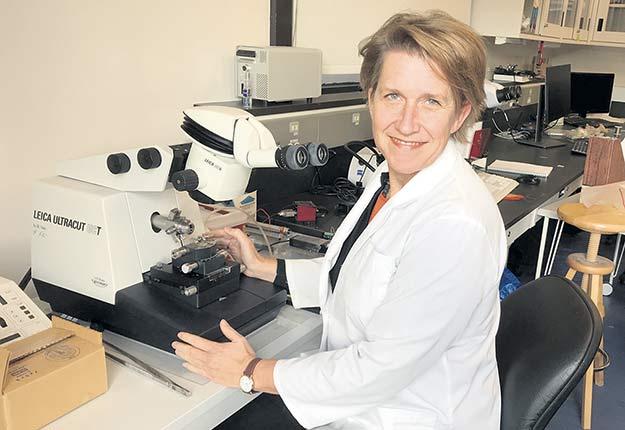 La professeure Anja Geitmann étudie les mécanismes moléculaires qui influencent la production agricole.