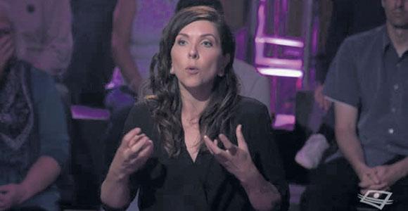 L'éleveuse porcine Claude-Émilie Canuel a participé à l'émission Zone franche sur les ondes de Télé-Québec, dont le thème était «Pour ou contre la consommation de viande?»