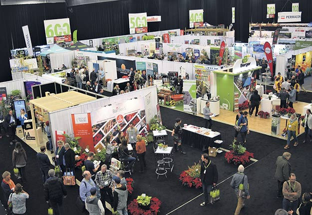 L'Expo-FIHOQ est le rendez-vous annuel de l'industrie horticole ornementale au Québec. Photo : David Riendeau