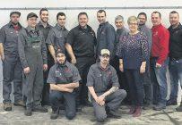 L'équipe de Champoux Machineries. Photo : Gracieuseté de Champoux Machineries