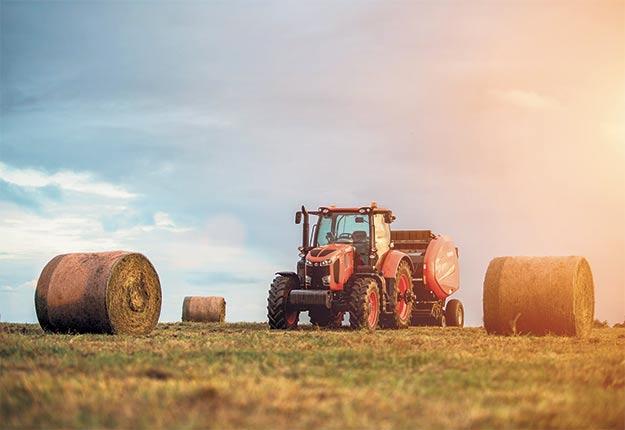 Kubota offre une gamme complète d'accessoires agricoles. Photo : Gracieuseté de Kubota