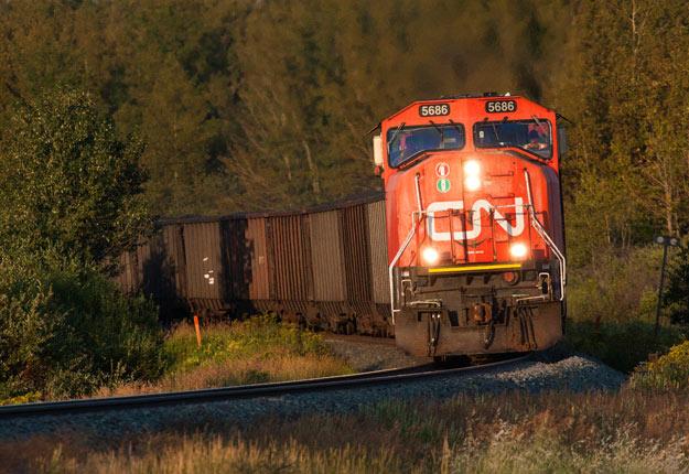 Les activités du CN devraient revenir à la normale dès 6h du matin, le 27 novembre. Photo : Shutterstock.com