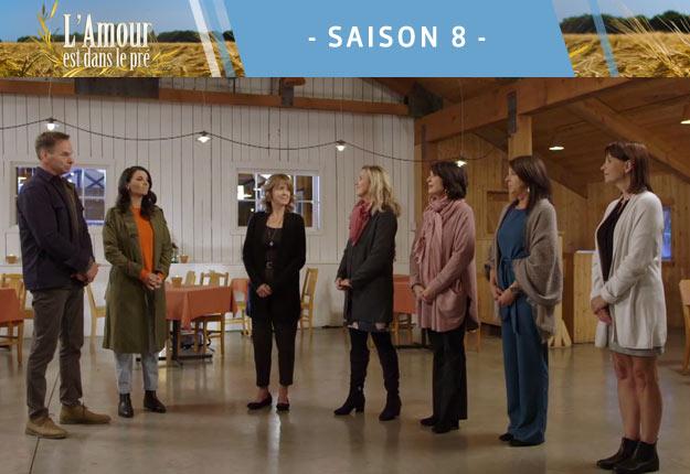 Qui choisira Nicolas entre Jocelyne, Elizabeth, Manon, Charlotte ou Louise? Invitera-t-il les cinq femmes à la ferme? Crédit photo : Noovo.ca
