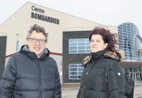 Les promoteurs, Jean D'Amour et Véronique Michaud. Photo : Maurice Gagnon