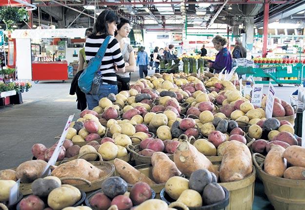 Le prix moyen pondéré de la patate a connu une progression de 36 % au Québec, de 2008 à 2017, selon le plus récent Portrait-diagnostic sectoriel de l'industrie de la pomme de terre. Photo : Archives/TCN