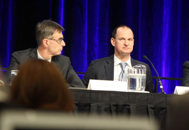 Le ministre québécois des Finances, Éric Girard, a dévoilé un budget à saveur environnementale, le 10 mars. Crédit photo : Myriam Laplante El Haïli/TCN