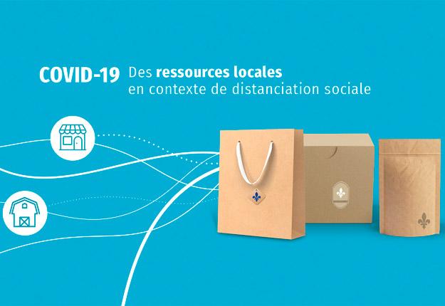 La plateforme Solution locale permet de mettre en relation producteurs et consommateurs.