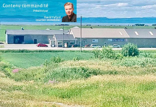 Services agricoles Grondin possédait 500 acres de terres cultivées en céréales à La Pocatière. Crédit photo : Gaétan Grondin