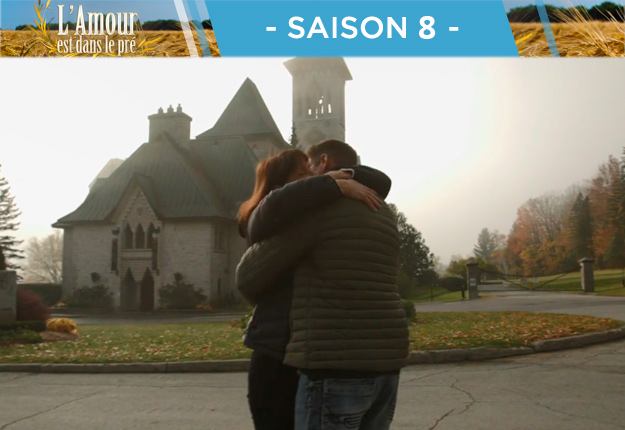 Pour leurs retrouvailles, Louise avait donné rendez-vous à Nicolas à L'Abbaye de Saint-Benoît-du-Lac. Déjà l'église, toi!