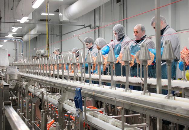 Trois employés de l'usine d'Exceldor de Saint-Bruno-de-Montarville ont été testés positifs à la COVID-19. Photo: gracieuseté d'Exceldor