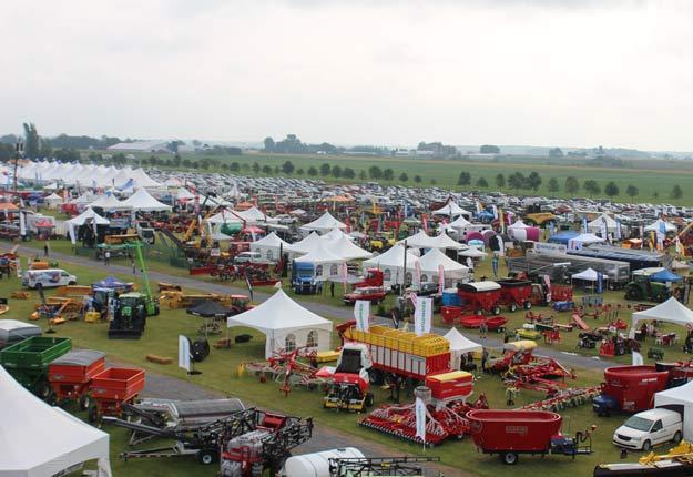 Les organisateurs d'Expo-Champs continuent les préparatifs de l'événement prévu à Saint-Liboire du 25 au 27 août grâce au télétravail. Photo : Archives / TCN