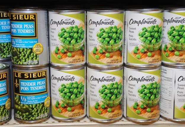 Les légumes en conserve constituent « quand même un très bon choix » même si une partie des valeurs nutritives sont perdues avec le cannage, souligne l'AQDFL.