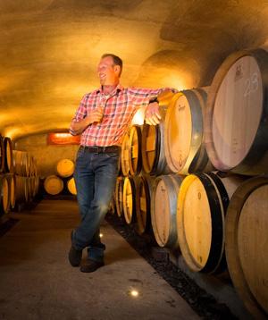 Daniel Lalande, propriétaire du Vignoble Rivière du Chêne à Saint-Eustache, dans les Laurentides. Photo: Gracieuseté du Vignoble Rivière du chêne